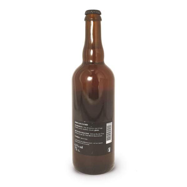 Marie-Thérèse FonzD, bière blonde artisanale en bouteille de 75cl