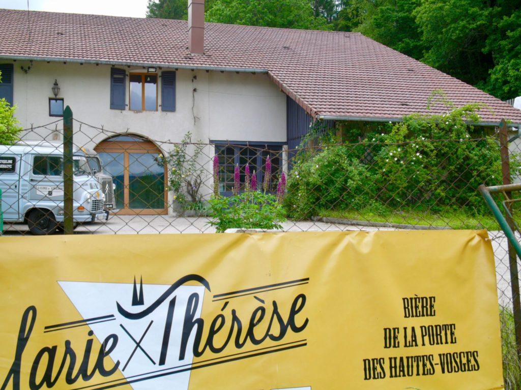 La brasserie artisanale Marie-Thérèse à Remiremont dans les Vosges
